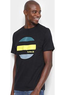 Camiseta Hurley Silk Drive Through Masculina - Masculino