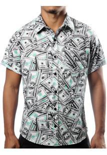 Camisa Camaleão Urbano Dolar Cinza