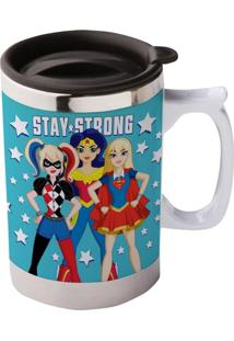 Caneca Térmica Azul 400Ml Stay Strong Urban Home