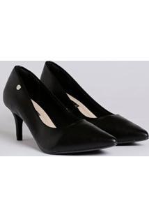 Sapato Scarpin Feminino Via Marte Preto