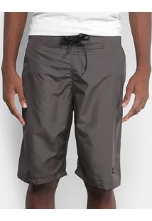 Bermuda Oakley Patch Masculino - Masculino-Cinza
