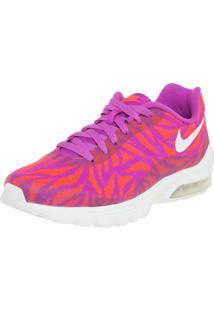Tênis W Nike Sportswear Air Max Invigor Kjcrd Roxo/Laranja