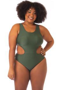 Maio Engana Mamãe Plus Size Verde