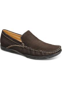 Sapato Masculino Loafer Sandro Moscoloni San Jose Marrom Escuro Outlet