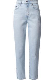 Nobody Denim Calça Jeans Reta Kennedy - Azul