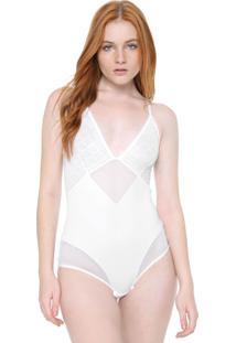 Body Calvin Klein Underwear Berna Branco - Kanui