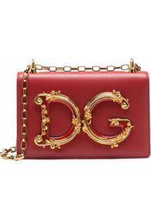 Dolce & Gabbana Bolsa Transversal Dg Girls - Vermelho
