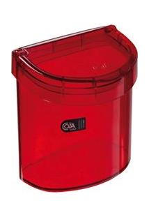 Lixeira Para Pia Coza Retro Vermelho - 2,7L