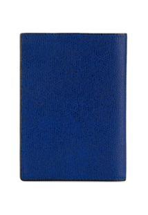 Valextra Carteira Granulada - Azul