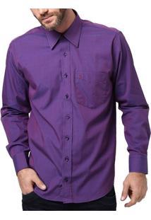 Camisa Manga Longa Masculina Di Marcus Roxo - Masculino