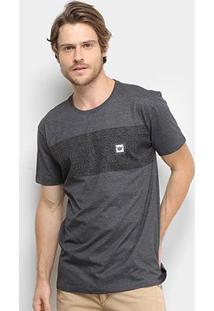 Camiseta Hang Loose Basic Masculina - Masculino-Mescla Escuro