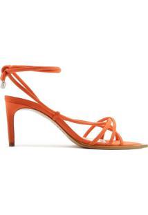 [Pré-Venda] Sandália Strings Lace-Up 944 Orange   Schutz