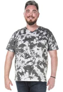 Camiseta Plus Size Masculina Sg - Grafite