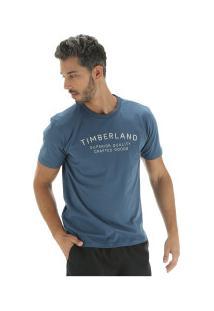 Camiseta Timberland Kennebec Rvr Elevated - Masculina - Azul Escuro