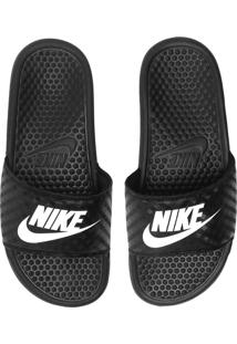 Chinelo Nike Sportswear Benassi Just Do It Preto - Kanui