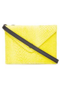 Bolsa Feminina Mini Envelope Bag Limited - Amarelo