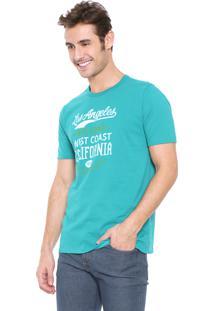 Camiseta Malwee Lettering Verde
