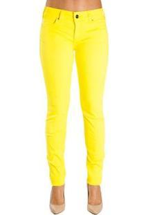 d5f687a5d Calça Sarja Skinny Color Colcci - Feminino-Amarelo