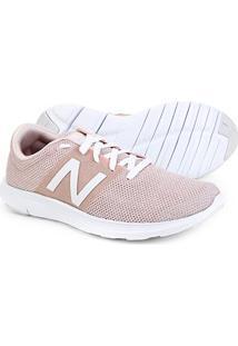 Tênis New Balance Koze Feminino - Feminino-Rosa+Branco