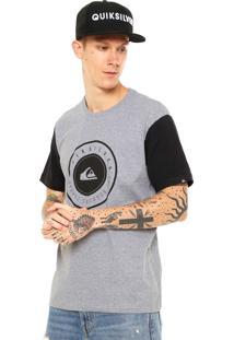 Camiseta Quiksilver Aroúnicod Cinza