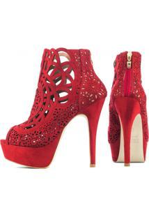 Sapato Torricella Vermelho