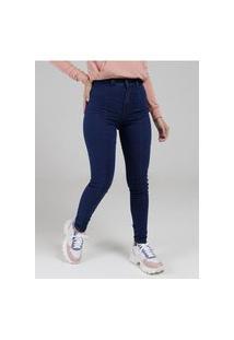 Calça Jeans Skinny My Size Feminina Azul