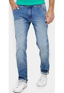 Calça Jeans Reta Colcci Alex Índigo Masculina - Masculino