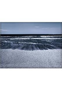 Jogo Americano Decorativo, Criativo E Descolado | Praia Azul - Tamanho 30 X 40 Cm