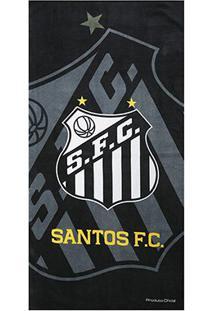 Toalha De Banho Santos Brasão - Unissex