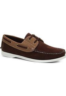 Dockside Shoestock Bicolor Masculino - Masculino