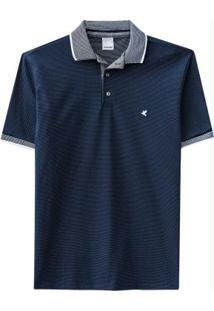 Camisa Azul Malwee