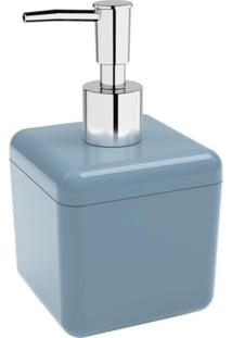 Porta-Sabonete Líquido Cube 330Ml Azul Coza