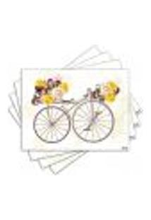 Jogo Americano - Bicicleta Com 4 Peças - 1144Jo
