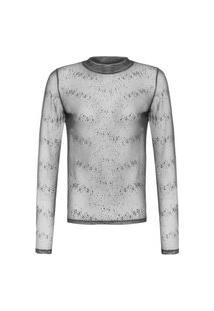 Camiseta Feminina Tule Under - Preto