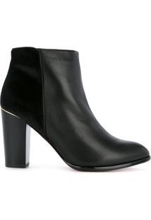 Loveless Ankle Boot Com Recorte - Preto