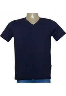 Camiseta Masc Cavalera Clothing 01.01.9614 Marinho