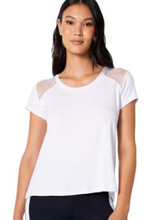 T-Shirt Mesh Shoulder