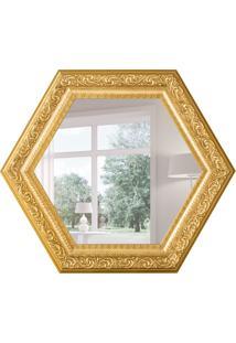 Espelho Decorativo Ancona 65X75 Cm Dourado