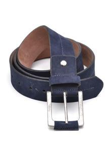 Cinto Hendy Bag Nobuck Azul-Marinho