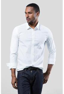 Camisa Reserva Elementos Surtom Masculina - Masculino-Branco