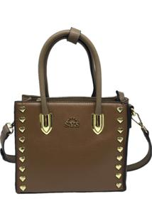 Bolsa Pequena Casual Importada Sys Fashion 8530 Marrom