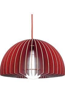 Luminária Luce 6 Vermelhovermelho