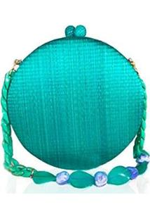 Bolsa Mimi Marie Adele Feminina - Feminino-Azul Turquesa