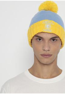 "Gorro ""Lakers®""- Azul Claro & Amarelo- New Eranew Era"