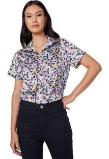 1cea53ddb Camisa Acetinada Elastano feminina | Shoelover