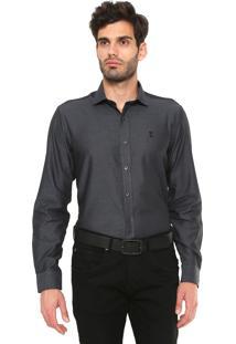 Camisa Sergio K Padronagem Preta