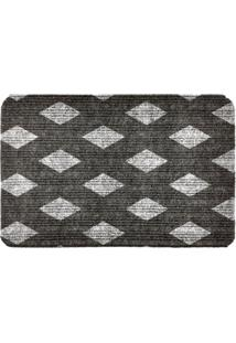 Capacho Carpet Triangulos Separados Cinza Único Love Decor