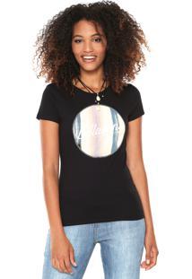 Camiseta Billabong Girls Desert Sun Preta