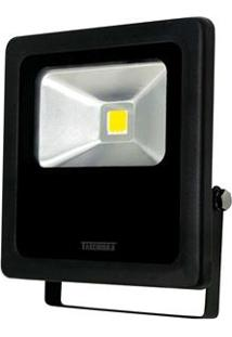Refletor Tr Led 50 Taschibra 3000K Preto - 50W