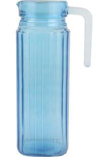 Jarra Le Cores 1 Litro Vidro Azul